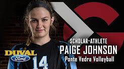 Duval Ford Scholar Athlete Paige Johnson Ponte Vedra