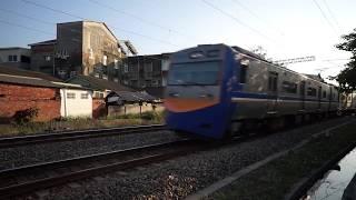 8722次迴送列車通過大林鎮中興路地下道