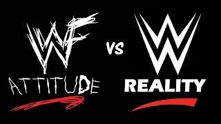 WWE/WWF ATTITUDE ERA VS PG ERA MEMES