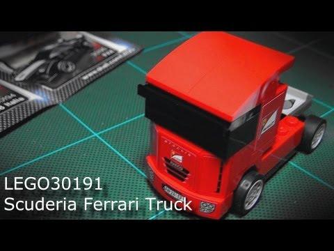 Shell V Power >> Shell V-Power - LEGO® model Ferrari Collection Scuderia Ferrari Truck set 30191 - YouTube