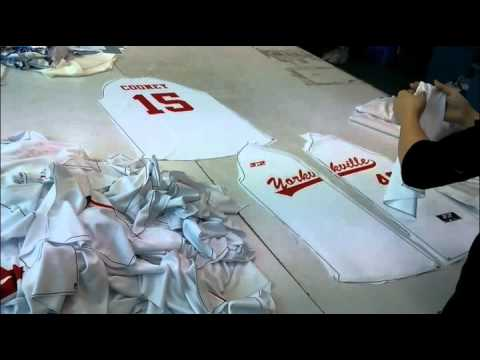 Tonton Workshop Video Show-custom various sportswear/custom sublimation hockey jerseys,etc.