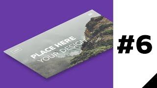 Как сделать mockup для сайта в Adobe Photoshop