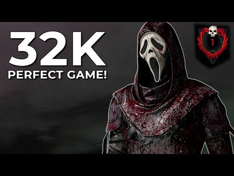 GHOST FACE PERFECT GAME VS RANK 1S! - Dead by Daylight! |