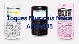 Toques Musicais do Nokia  Asha 205