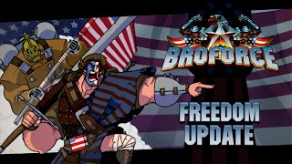 Broforce Freedom Update - New Bros, Melee Attacks, Flexing