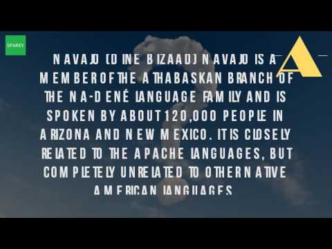 What Is The Language Of The Navajo?
