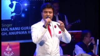 """Mukhtar Shah performing song """"Chand aahe bharega"""" for Sur Sangat."""