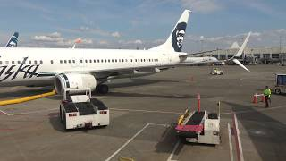 4K | Trip Report | Premium Class | Vancouver BC to Seattle WA | Alaska Airlines
