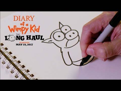 Diary of a Wimpy Kid The Long Haul | How to Draw The Pig | 20th Century FOX