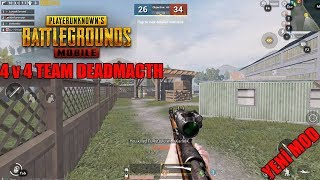 PUBG MOBİLE 4V4  TEAM DEADMATCH MODU GELDİ