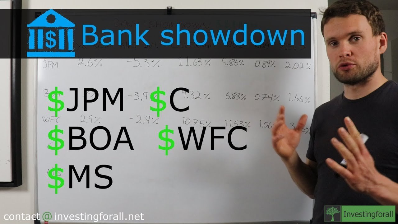 JPMorgan vs  Bank of America vs  Citigroup vs  Morgan stanley  [Bank-showdown]