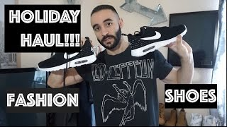 HOLIDAY FASHION HAUL! , Men's fashion, shoes, Nike, H&M, TOPMAN, What I got for christmas. 2016