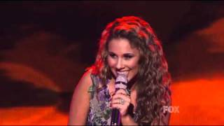 Haley Reinhart - Bennie and the Jets - American Idol Top 11 (2nd Week) - 03/30/11