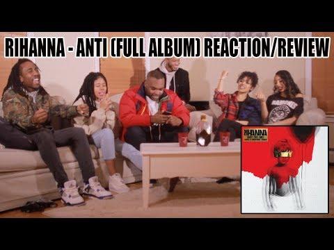 RIHANNA  ANTI FULL ALBUM REACTIONREVIEW