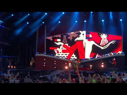 Billy Talent - Rusted from the Rain @Live at Sziget Festival 2017