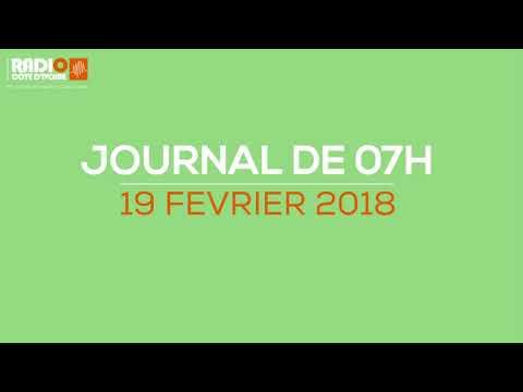 Le journal de 7h du 19 février 2018 - Radio Côte d'Ivoire