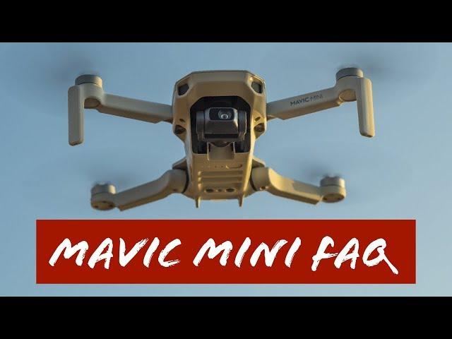 DJI Mavic Mini FAQ |Eure Fragen beantwortet!