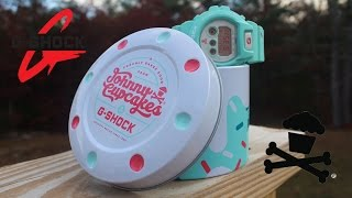 UNBOXING G-SHOCK x @JOHNNYCUPCAKES COLLAB!