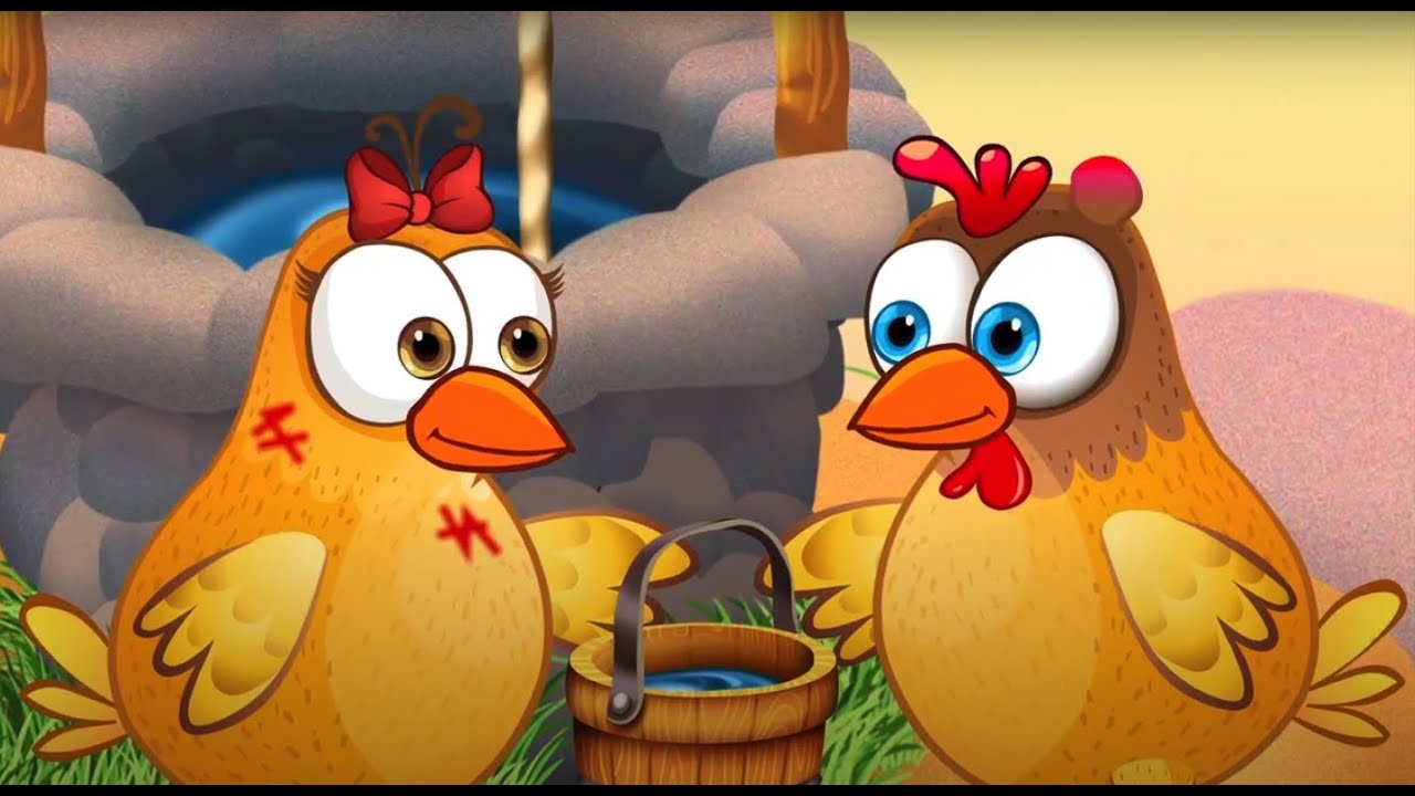 Jack and Jill + More Nursery Rhymes & Kids Songs - Fox and Chicken for Kids