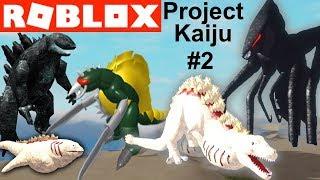 Project Kaiju #2 SHIN GODZILLA MOTHRA GIGAN | Roblox Godzilla Video Game YG Gaming