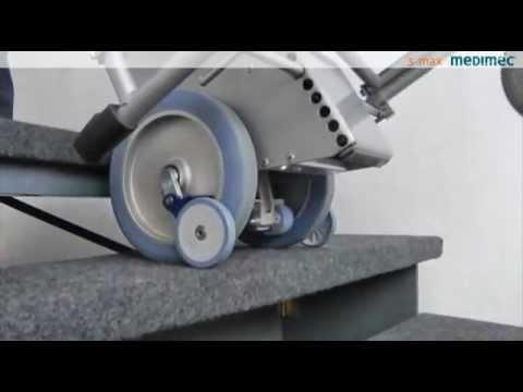 Montascale elettrico per carrozzina manuale s-max Medimec