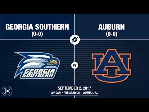 2017 Week 1 - Georgia Southern at Auburn (Quick-Cut)