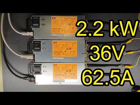 2200 Watt Server Power Supply For Induction Heating