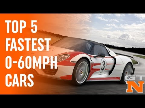 Top 5 Fastest 0-60mph Production Cars | Grand Tour Nation