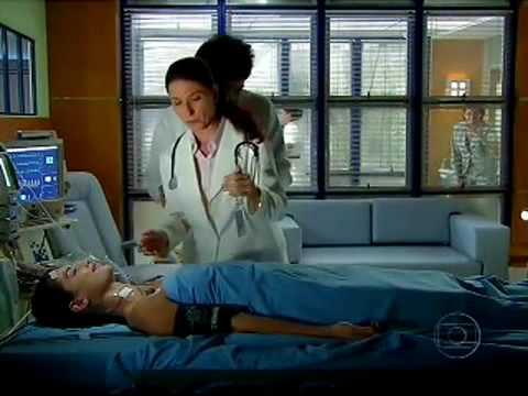 viver a vida 17/11/2009 Miguel instiga Luciana a começar a fisioterapia