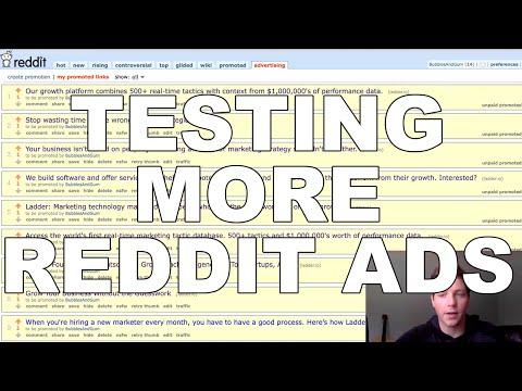 Spending $200 on Reddit Ads – The Reddit Experiment (Part 2)