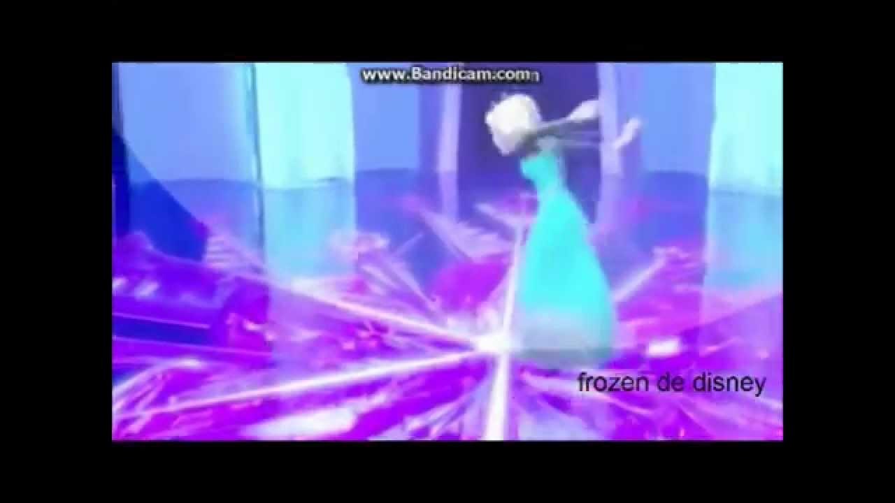 frozen una aventura congelada: Elsa canta libre soy - YouTube