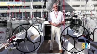 Dehler 34 - anteprima Genova 2016