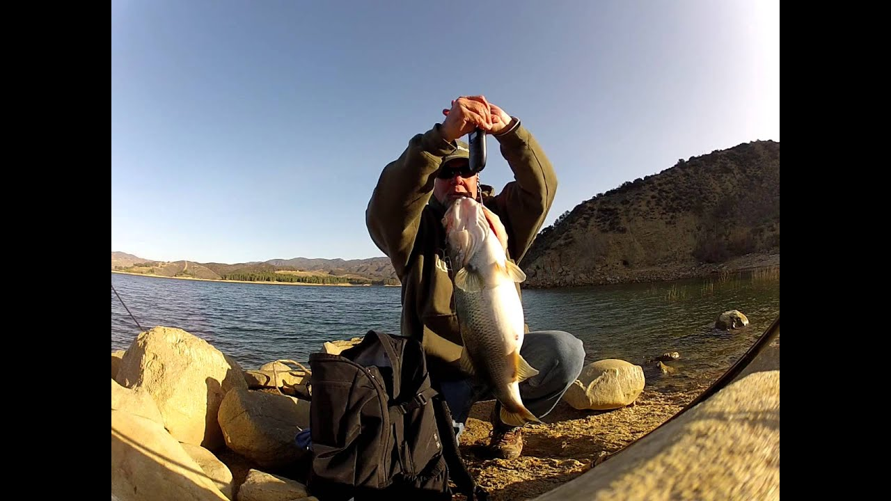 Castaic lake bass gopro roboworm youtube for Castaic fishing report