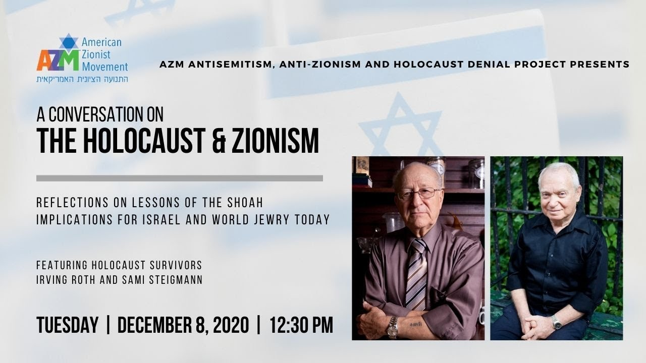 CONVERSATION ON THE HOLOCAUST & ZIONISM