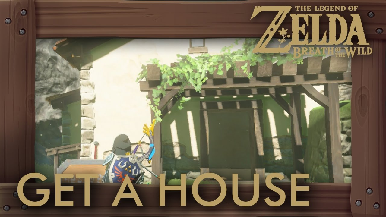 Zelda breath of the wild how to get a house doovi for Housse zelda