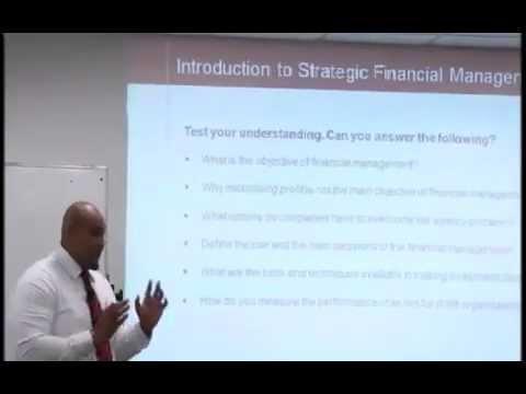 Strategic Financial Management