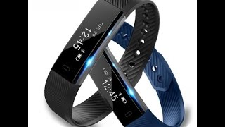 id115 smart bracelet fitness tracker step counter activity monitor band alarm clock vibration wristb