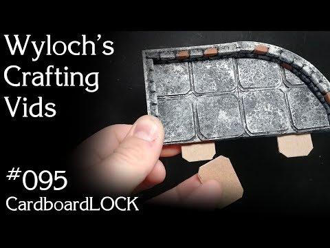 How to Make Interlocking Modular Dungeon Tiles for Dungeons & Dragons, Pathfinder Terrain (WCV 095)