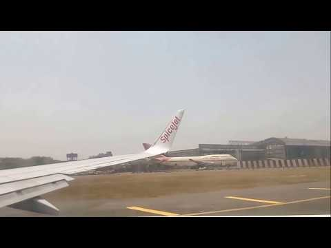 Cobalt Air First Flight - A320 from LCA to ATH - Spicejet Inaugural Flight - spicejet Wing View