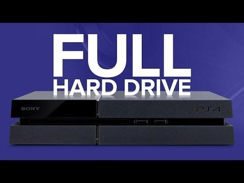 PS4: Hard Drive Full at 407GBs