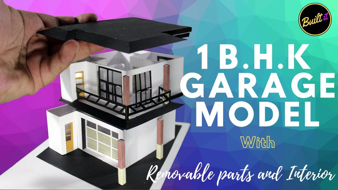 1 B.H.K. HOUSE WITH GARAGE | STUDIO APARTMENT | WITH PAPER | Built IT