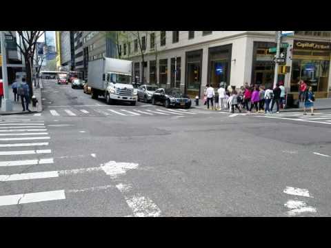 SeniorCare EMS Responding On 59th Street In Manhattan, New York