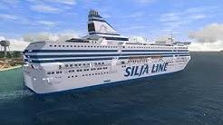 VSF MS Silja Serenade (beta) Helsinki - Tukholma in 45 min.