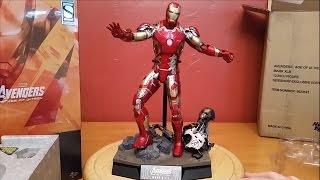 Unboxing Toys Avengers Age Ultron Iron Man Mk Cast Scale D09 Review