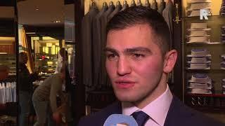 Artjom Kasparian kijkt uit naar boksinterland in Rotterdam
