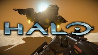HALO COMBAT ENGINEERED - SPACE ENGINEERS (EPIC BUILDS)
