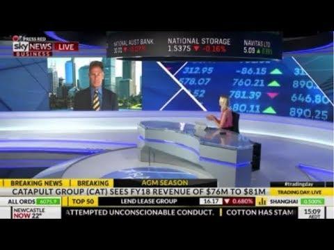 Sky News Business  - Jack Lowenstein - 22 November 2017