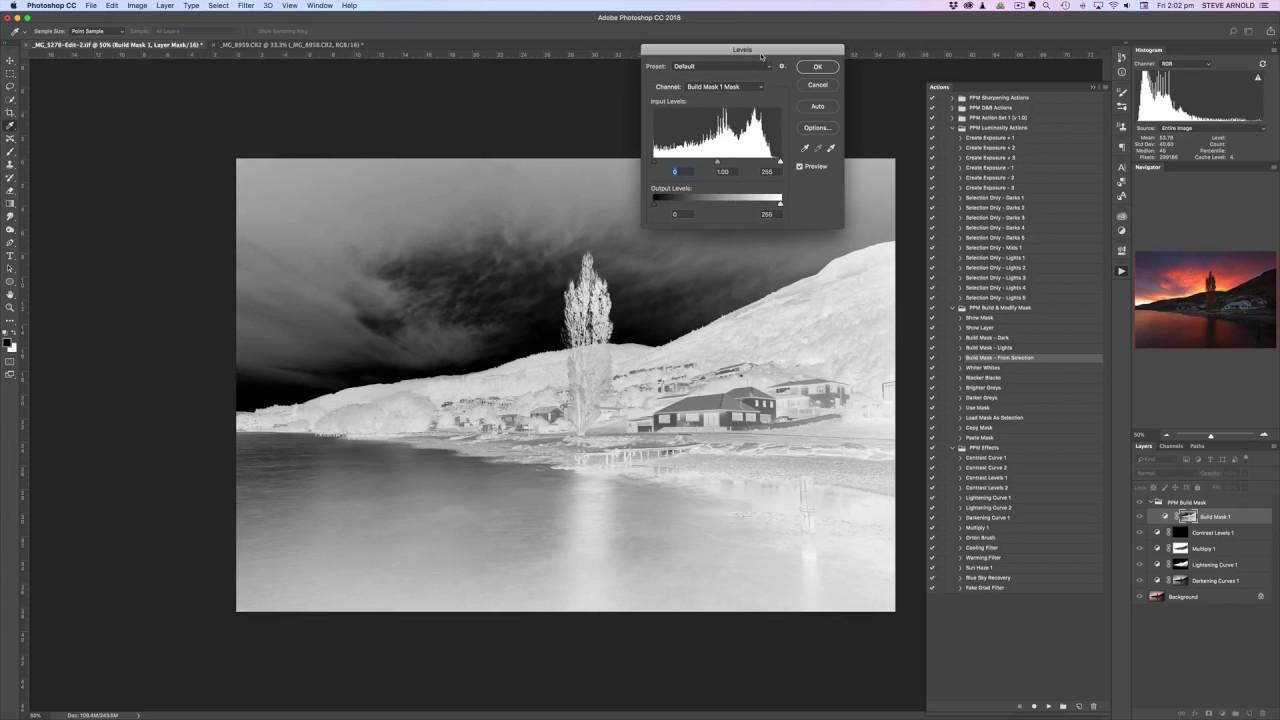 Luminosity Masking Actions for Photoshop - Walkthrough 1