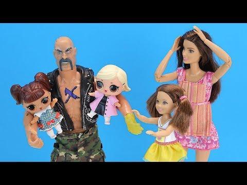 ЭТО НЕ КУКЛЫ ЛОЛ, ЭТО МОИ ДЕТИ! Мультик Барби Катя и Семья Игрушки Для девочек IkuklaTV Про Школу