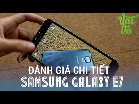 [Review dạo] Đánh giá chi tiết Samsung Galaxy E7 - pin rất tốt, màn hình lớn hữu ích